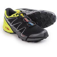 Salomon Speedcross Vario Men's Trail Running Shoes (size 8) Black / Green