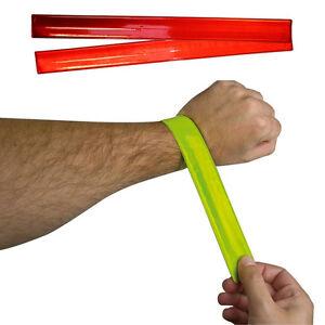 Rouge-reflechissant-de-securite-arm-band-light-up-cyclisme-jogging-running-randonnee-sport