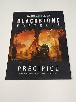 Warhammer Precipice Book Blackstone Fortress