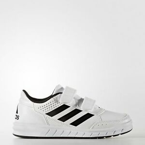 Image is loading Adidas-Alta-Sport-CF-Kids-Boys-Trainers-Shoes-