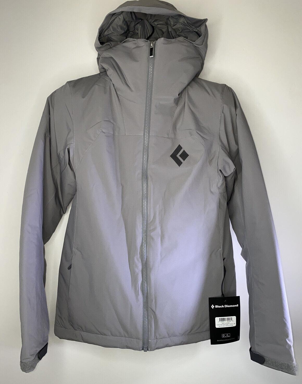 Black Diamond Women's Heat Treat Hoody Jacket Nickel Gray Small NEW