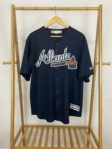 Majestic-Atlanta-Braves-MLB-Freddie-Freeman-5-Stitched-Baseball-Jersey-Size-XL