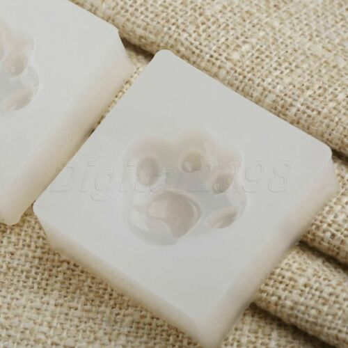 Handmade Animal Paw Jewelry Pendant Resin Silicone Craft Mold DIY Casting Mould