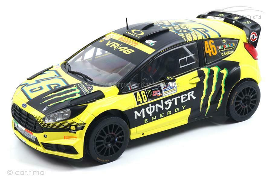 Ford Fiesta RS WRC-Monza Rally 2015-Rossi Cassina-IXO MODELS 1 18 - 18rm
