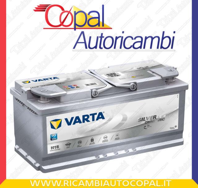 Batteria Varta Start-Stop Plus auto H15 12V 105Ah 950A Batteria