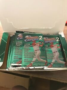 1998-BOWMAN-CHROME-Series-2-Baseball-13-Packs-RC-Refractors