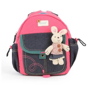 Image Is Loading Rabbit Jeans Kids Backpack School Bag Nursery