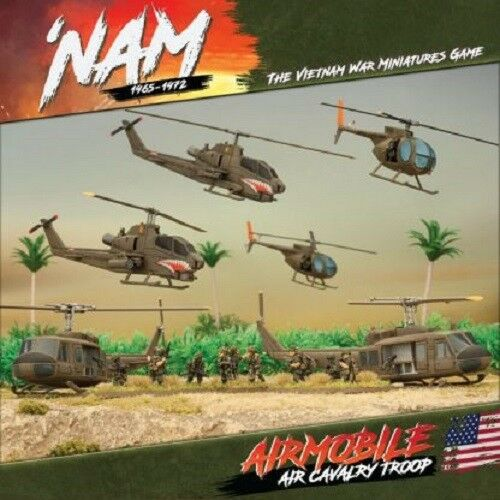 AIR CAVALRY TROOP - VUSAB01 - VIETNAM MINIATURES GAME - 'NAM -