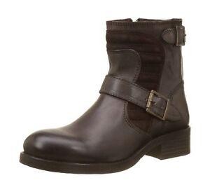 separation shoes 2e0a9 a19eb Details about Buffalo Womens ES 30932 Jamata Suede Biker Boots Brown  (Castanho 01 0) 6.5 UK