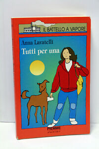 IL-BATELLO-A-VAPORE-TUTTI-PER-UNA-LIBRO-USATO-EDIZIONE-PIEMME-JUNIOR-ML3-67493
