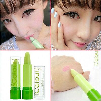 WS CA Women Girls Pretty Changable Color Lipstick Hot Korean Magic Smell Lip