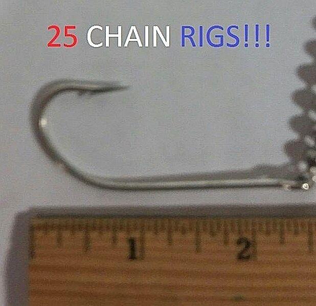 25 Eagle Claw 7 0 Seaguard Chain Rigs (L991B-7 0) EB190202