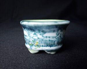 Japan-Bonsai-Pot-Tousui-Painting-Winter-Mame-Small-Custom-Order-Made-4cm-1-9-16-034