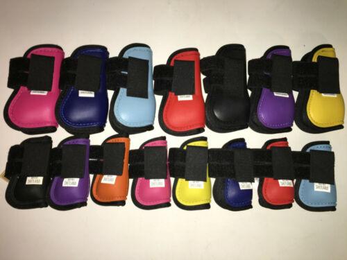Blau.. Pink,Lila HB Gamaschen für Minishetty und Shetty ab 11,5cm