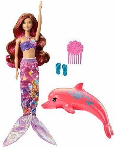 Barbie FBD64 Dolphin Magic trasformando MERMAID DOLL