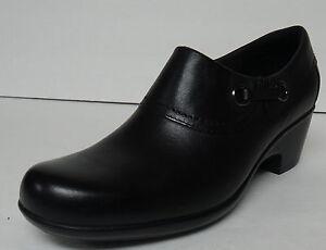 Clarks Genette Danby Black Shoes