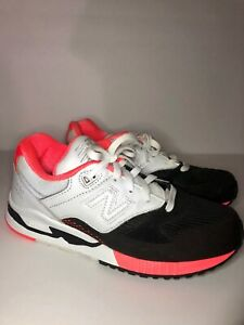 on sale 0bf86 0ea87 Details about NEW BALANCE 530 Encap Sneakers - Size: 8 (Pink,White & Black)