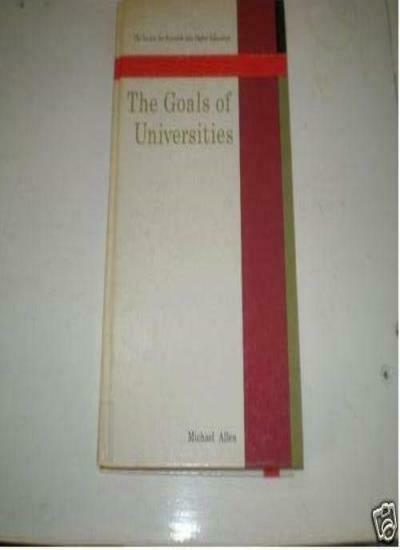 Goals For Universities Cl By Allen M