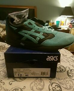 the best attitude 0763e 60909 Details about Asics Gel Saga Diamond Supply Co Kith Collab sz 12 Just Us  Ronnie Fieg Teal
