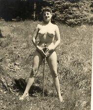 "202 # Vintage ""Mimosa"" Pin-up girl nude nudo nu Akt FKK Nudist sexy nackt Erotik"