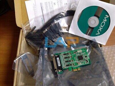 4 Port PCIe Board MOXA CP-114EL RS-232/422/485 Low Profile NO ...
