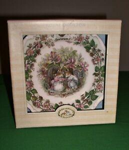 Royal-Doulton-8-Bone-China-Brambley-Hedges-Summer-Decorator-Plate-England