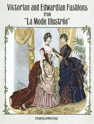 Dover Fashion And Costumes Ser. Victorian And Edwardian Fashions From La... - $19.35