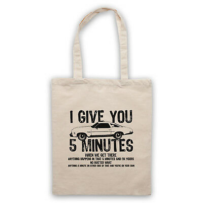 Drive Unofficial Chevelle 73 I Give You 5 Minutes Film Tote Bag Life Shopper Weitere Rabatte üBerraschungen