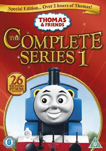 THOMAS-THE-TANK-ENGINE-AND-FRIENDS-COMPLETE-SERIES-1-DVD-First-1st-Season-One-UK