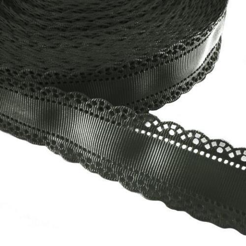 Buddly crafts 30mm napperon edge gros-grain ruban 2m