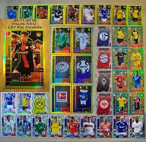 l24-Kerem demirbay-edición limitada de tarjetas Topps match coronó 18//19