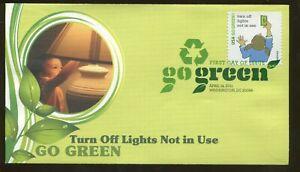 2011-Washington-Dc-Go-Vert-Turn-Off-Lumieres-non-en-Usage-Fleetwood-FDC