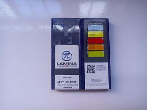 10pcs LAMINA TCMT16T304 NN LT10 Carbide Inserts New Free Shipping