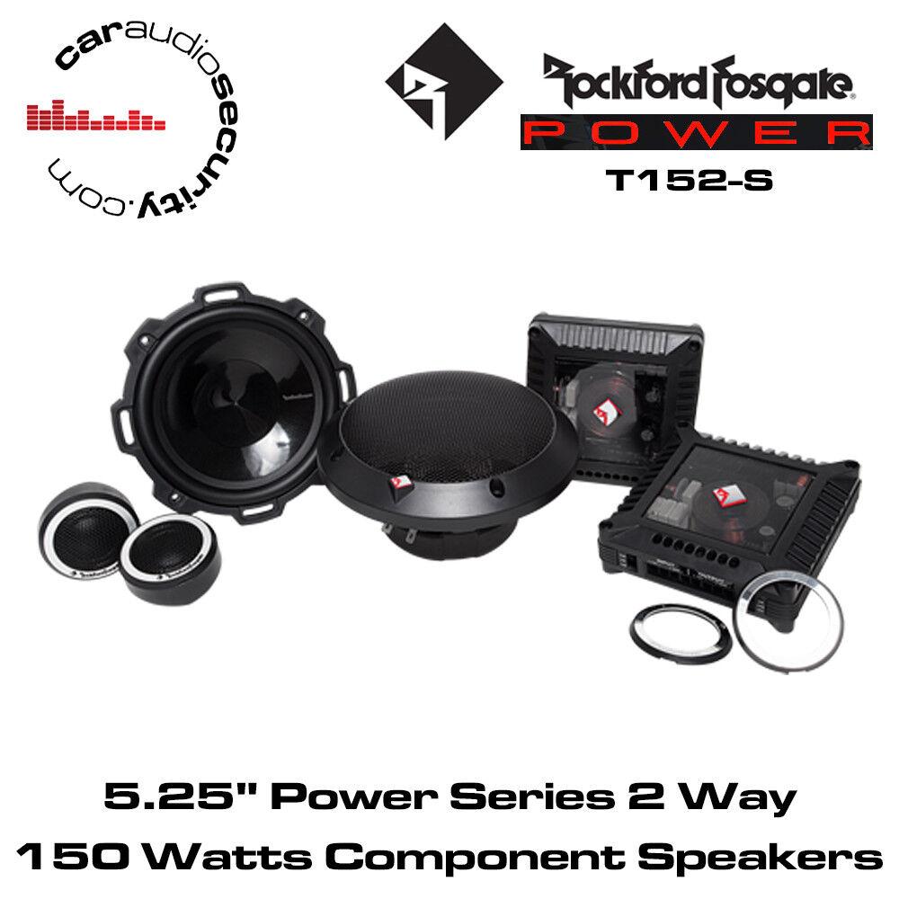 Rockford Fosgate T152s 2 Way 1334 Cm Car Speaker Ebay Power Logo