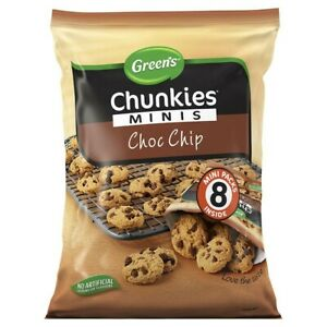 Green's Chunkies Chocolate Chip Cookies Mini Multipack 200g