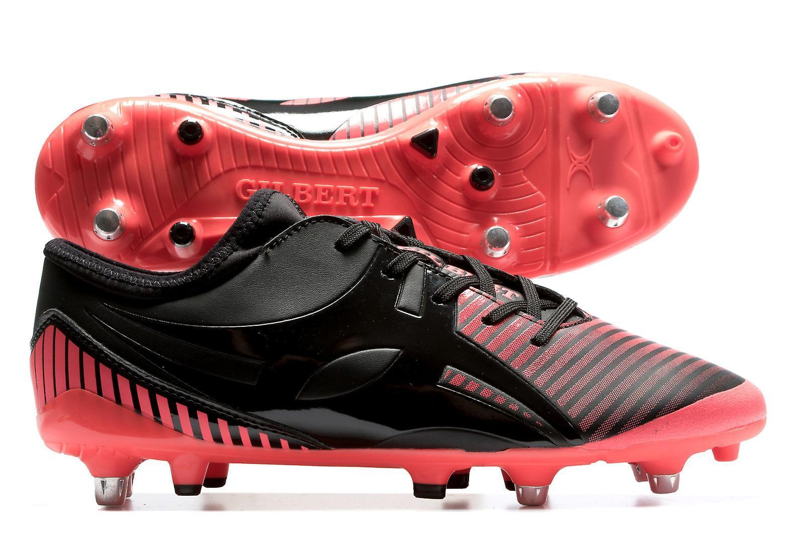 Gilbert Ignite FLY FLY FLY 6 Stud Hybrid SG Stivali Rugby 4b172e