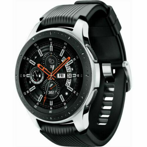 Samsung Galaxy Watch 46mm Silver Bluetooth GPS SM-R800 Fast Ship IP02879E