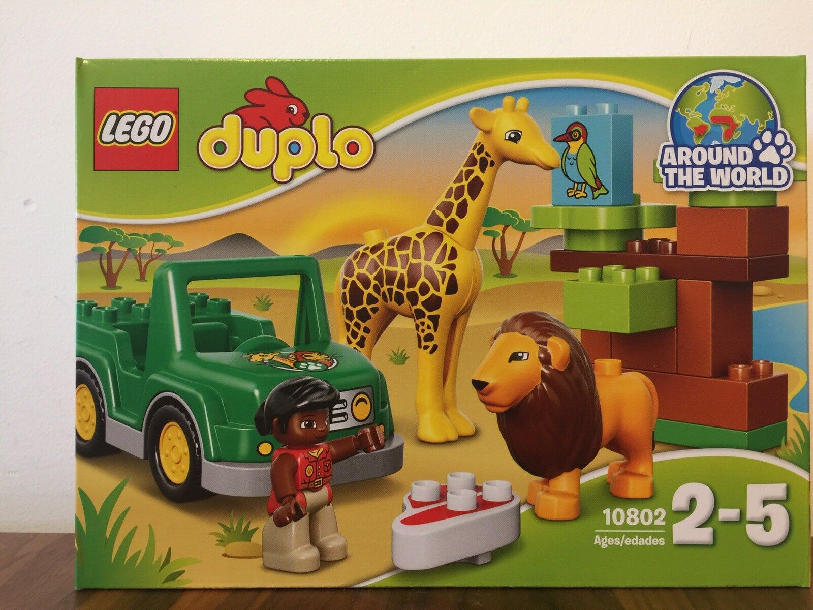 Lego Duplo Savanna 10802 (Brand New Unopened) Recommended Age 2-5y