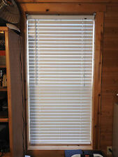 """window blinds, 2"""" Faux Wood 29-1/2"""" x 70"""" white"""