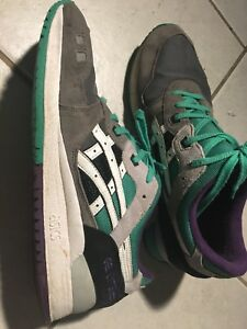 the latest 21163 5968c Details about Asics Gel Lyte III 3 Grey/White Grape H405N Men's SZ 12