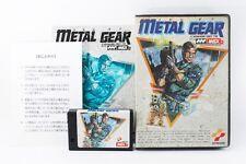 Rare Metal Gear 1 MSX Japanese version (mn23)