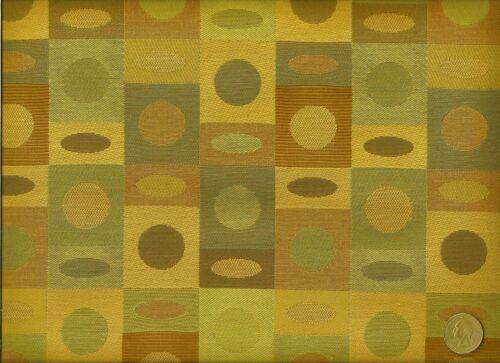 Crypton® Arccom Bounce Butterscotch Modern Contemporary Shapes Upholstery Fabric