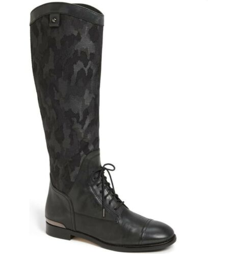 Joan & David Harlynn camo lace up boot size 6 Ret.