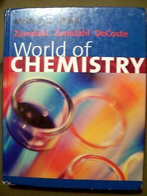 McDougal Littell World Of Chemistry Student Textbook 2002