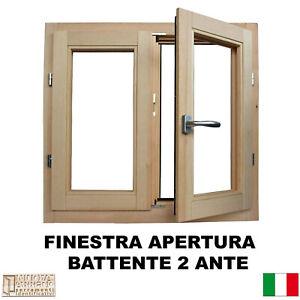 Finestra-in-legno-lamellare-grezzo-cm-L-90-x-80-H-battente-levigata-doppio-vetro