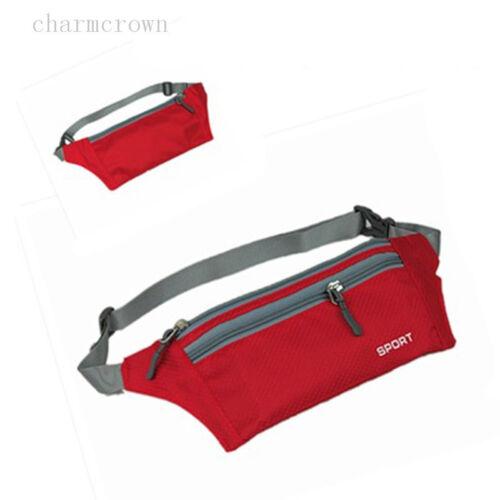 Outdoor Bauchtasche Hüfttasche Sicherheit Gürteltasche Umhängetasche Zip Tasche
