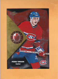 1995-96-SCORE-BORDER-BATTLE-1-PIERRE-TURGEON-MONTREAL-CANADIENS