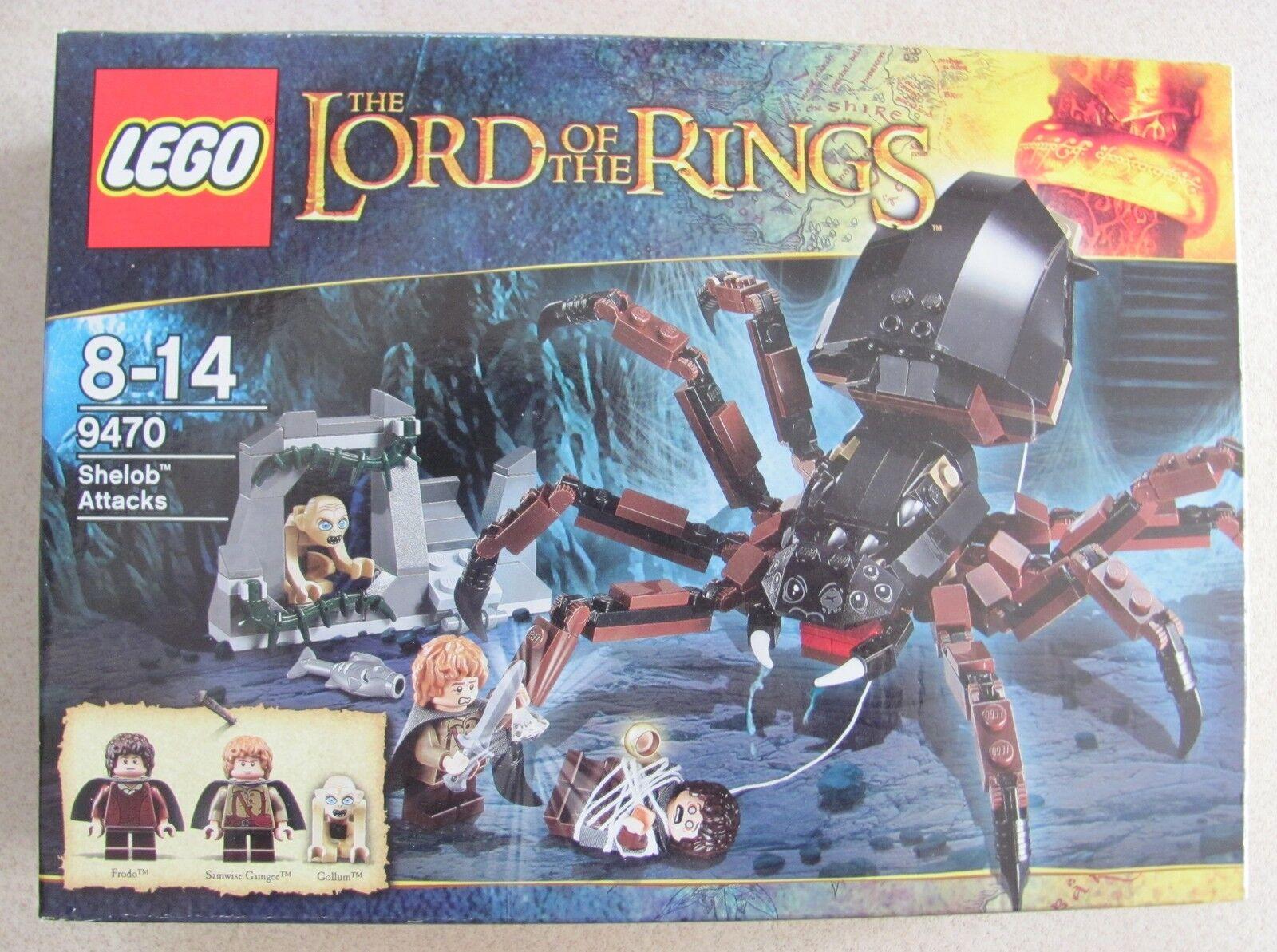 Lego 9470 Lord of the Rings  Der Hinterhalt von Shelob Neu & OVP