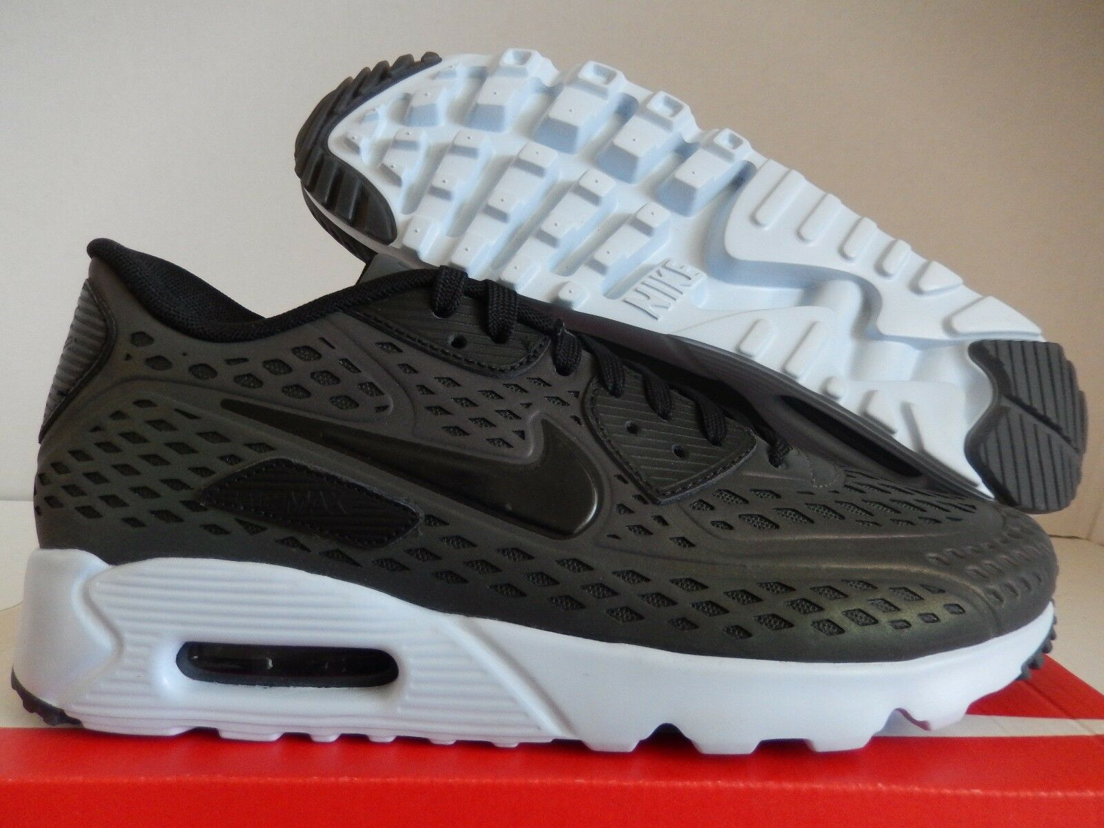 "Air Max 90 Ultra Moire Iridescent nike air max 90 ultra moire qs deep pewter ""iridescent"" sz 9.5 [777427-200]"