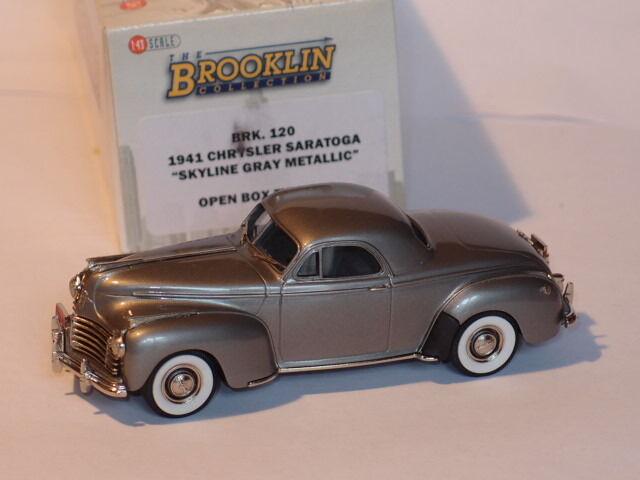 Brooklin brk120 1941 chrysler saratoga skyline grauen metall 1   43